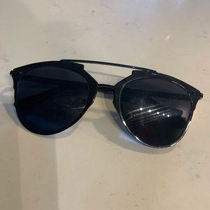 Accessories - All Black Dior Alike Sunglasses